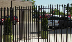 Example of our wrought iron and aluminum creations - Accent Ornamental Iron