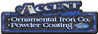 Accent Ornamental Iron & Powder Coating Company - logo